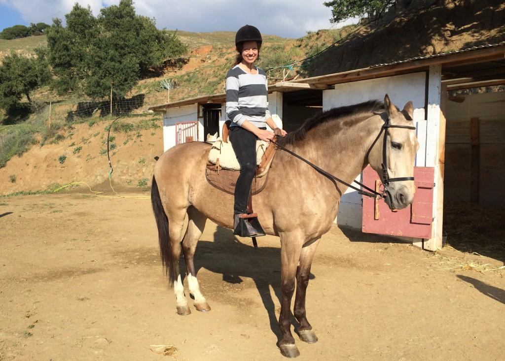 rida i spanien - resa med barn - reseblogg