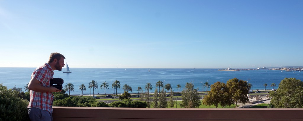 Calatrava-Palma-utsikt