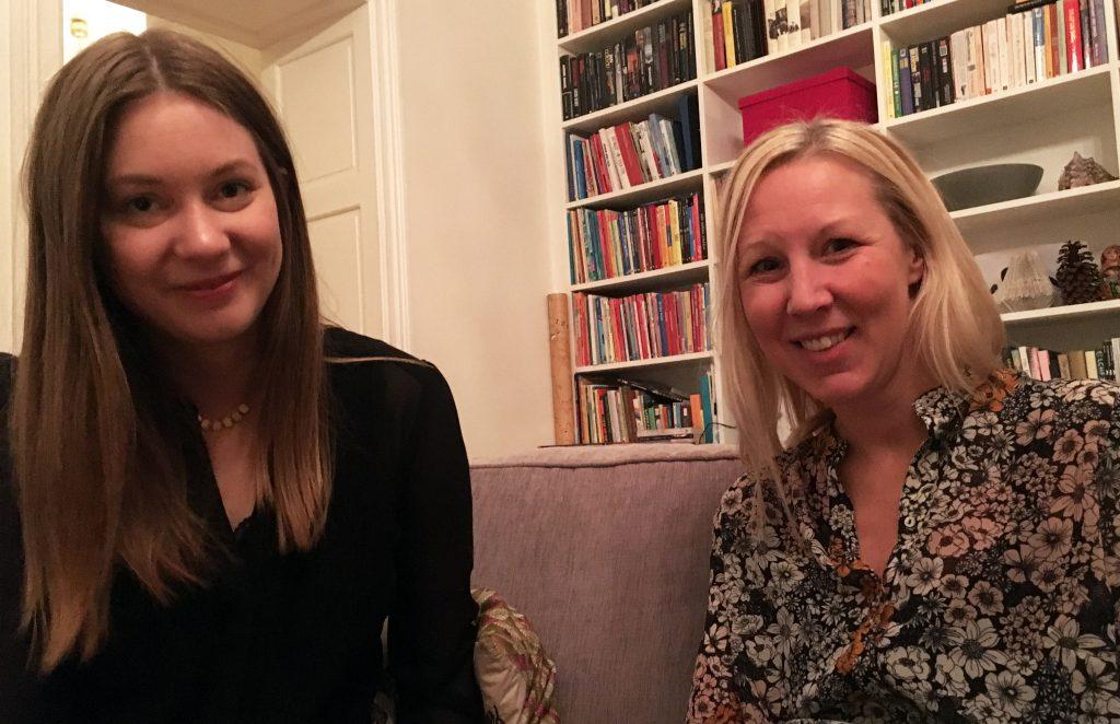 resebloggarna Sofia och Tove.