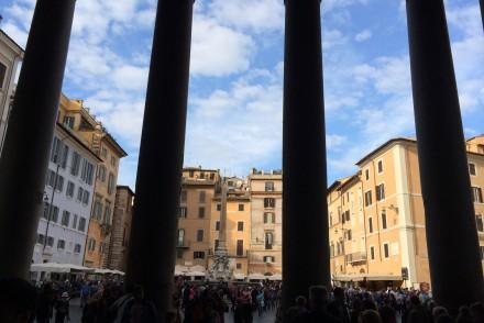 Rom med barn, Italien