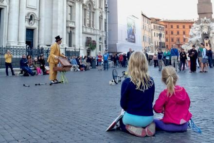 resa med barn , Italien