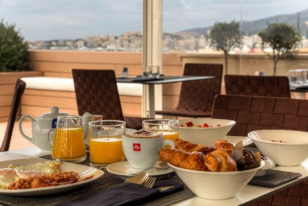 Frukost på Caltrava
